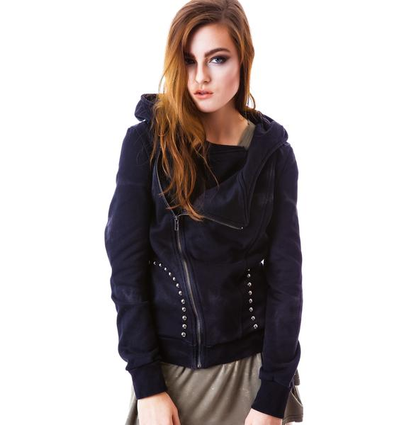 Doomsday Studded Zip Jacket