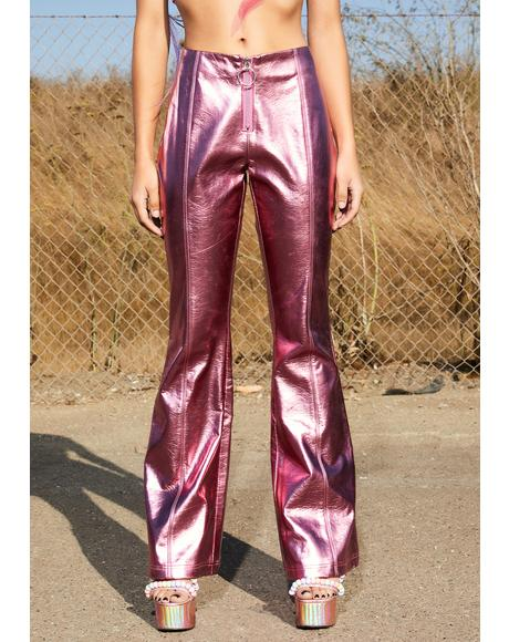 Pixie Power Metallic Pants