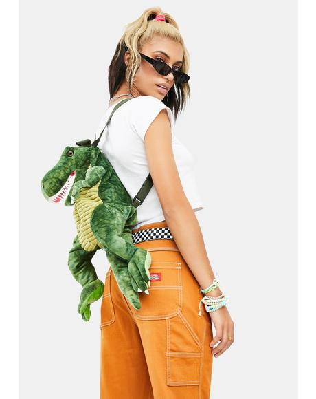 It's Dino-Mite Stuffed Backpack