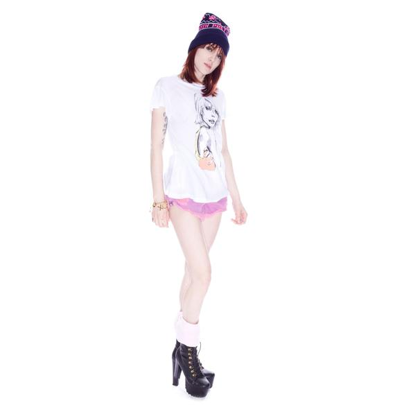 Wildfox Couture Neon Abbey Desert Crew