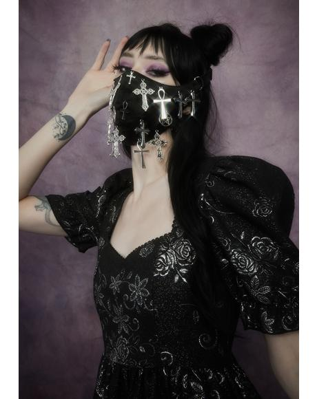 Say A Prayer Cross Face Mask