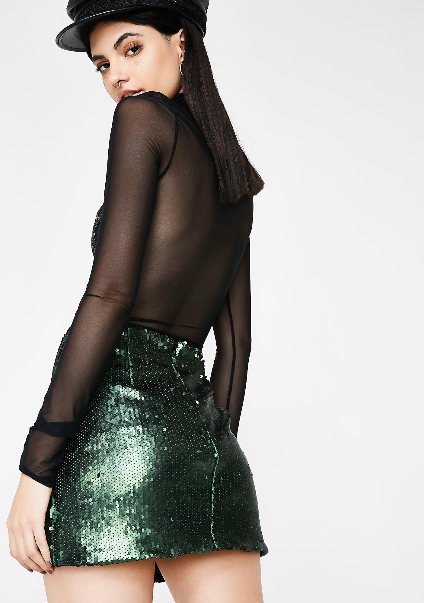 Mad Steeze Sequin Skirt