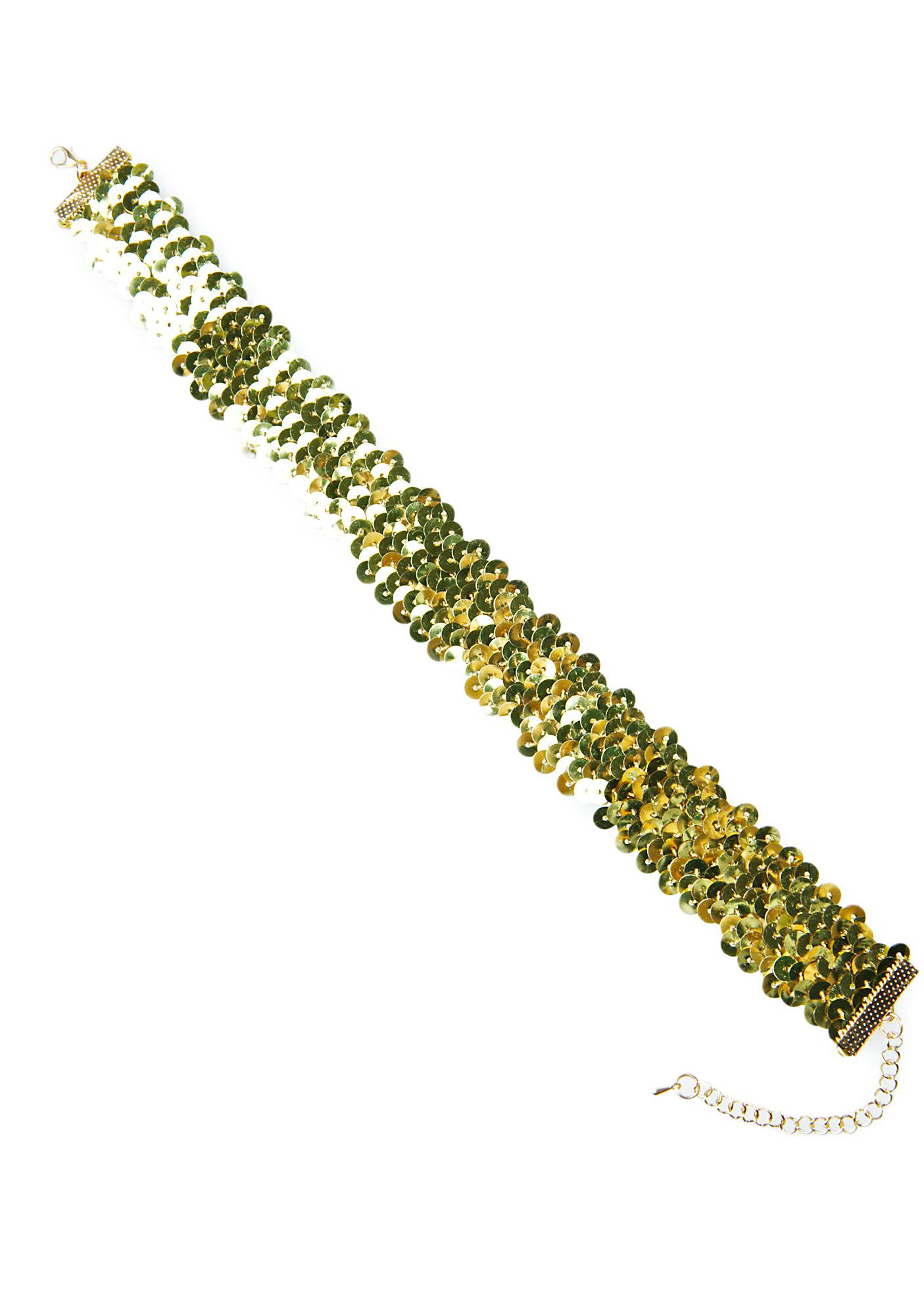 Radiance Sequin Choker