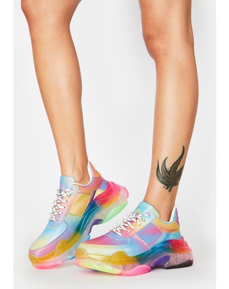 Cyber Utopia Chunky Sneakers