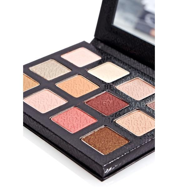 Sigma Warm Neutrals Eyeshadow Palette