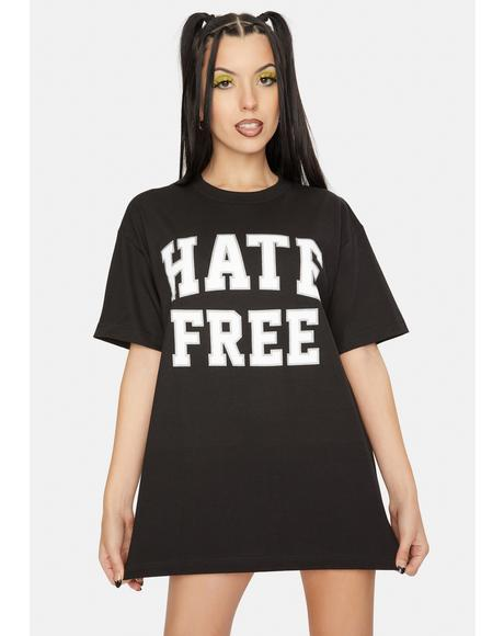 Hate Free Graphic Tee