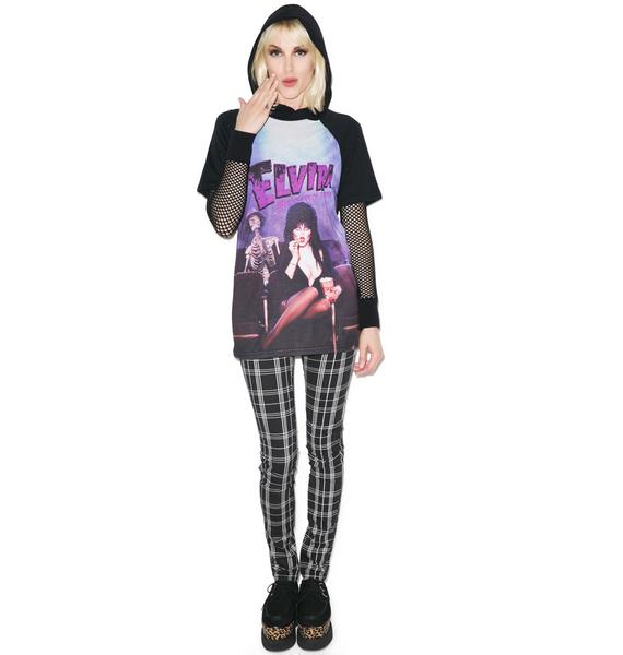 Kreepsville 666 Elvira Screen Snack Tee