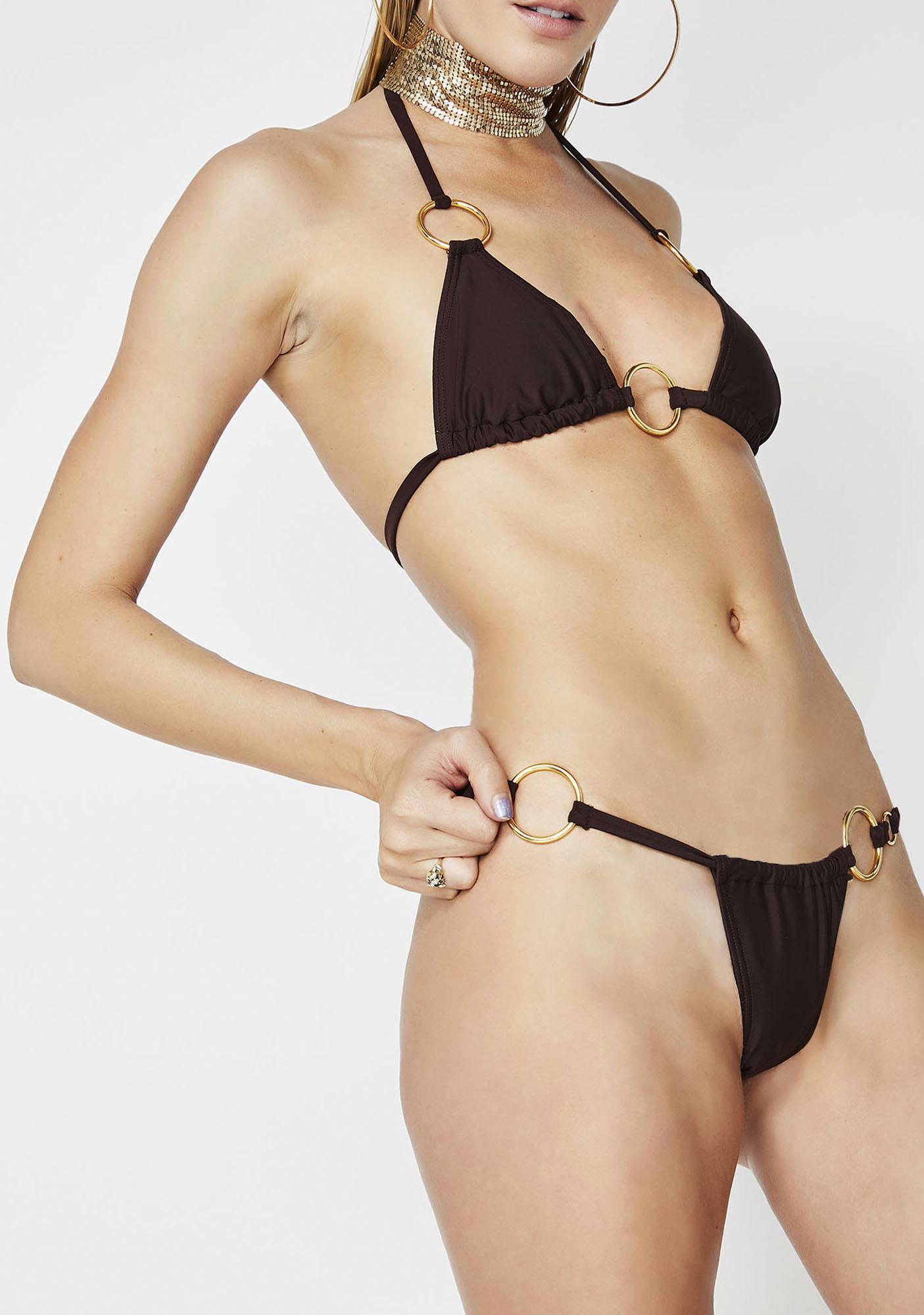 Poster Grl Vacay Mami O-Ring Bikini Set