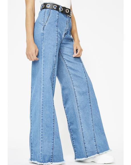 Dizzy Daze Wide Leg Jeans