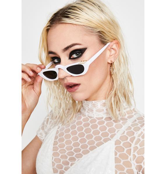 Boo Hashtag Drama Tiny Sunglasses