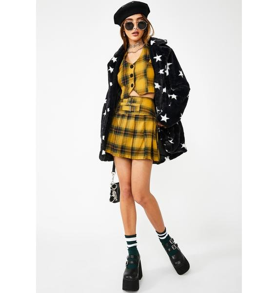 Jawbreaker Button Up Tartan Vest