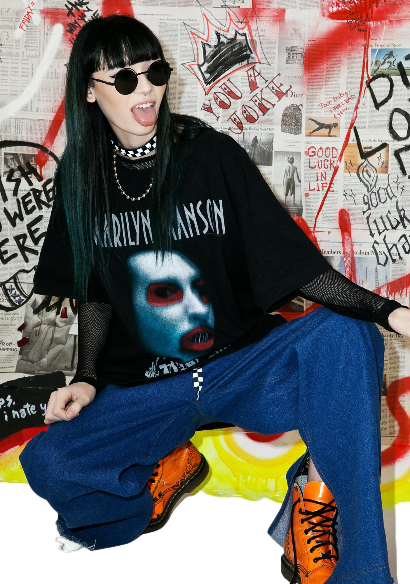Vintage Marilyn Manson Golden Age Of Grotesque Tee