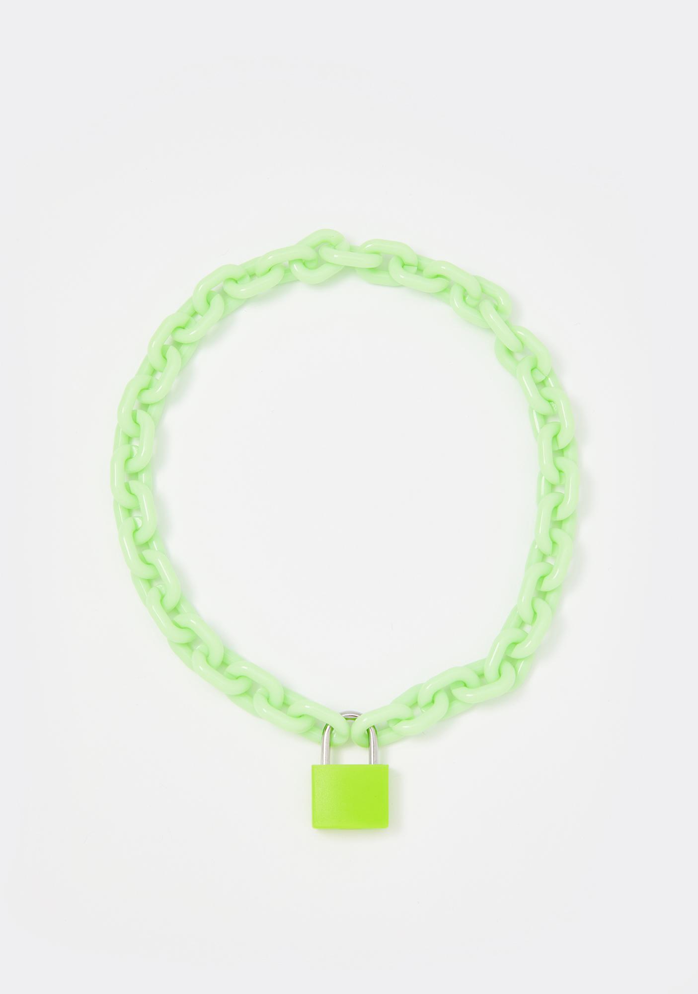 Cyber Children Lock Necklace