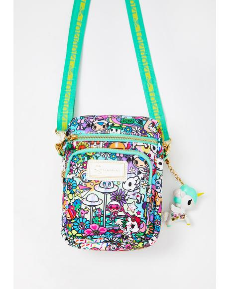 Flower Power Mini Crossbody Bag
