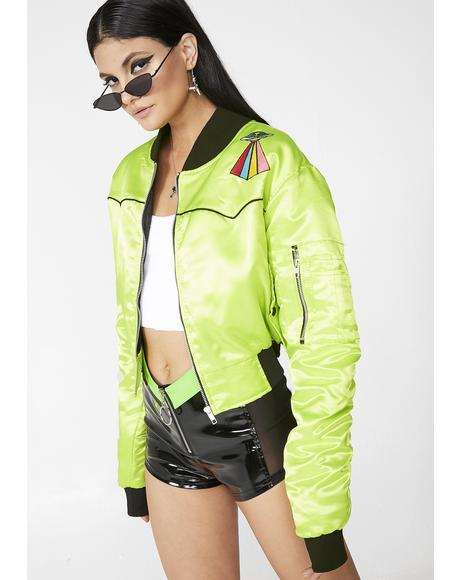Alien Hunter Bomber Jacket