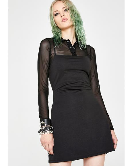 Grunge Coven Top N' Dress Set