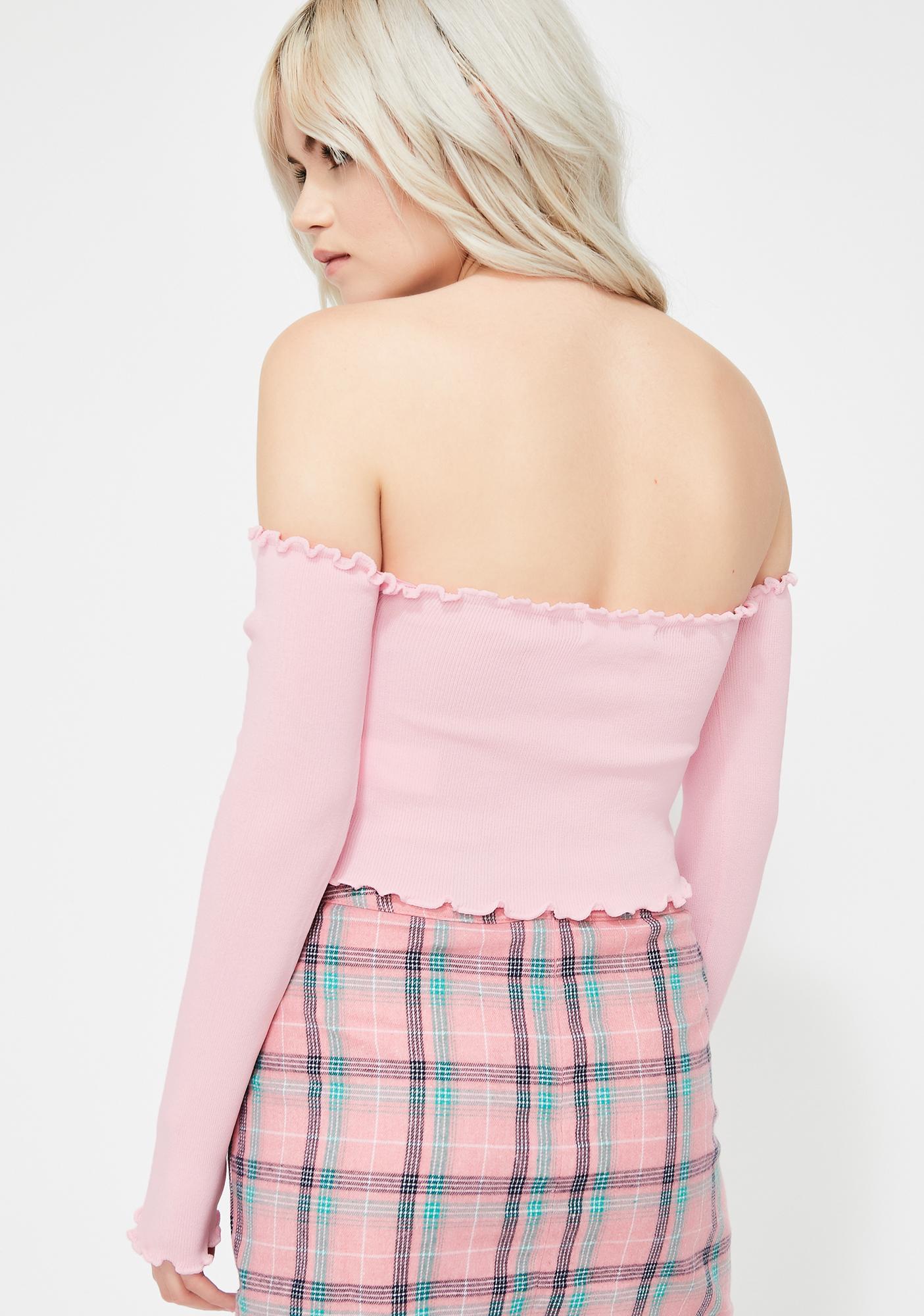 Blush Twice As Nice Crop Top