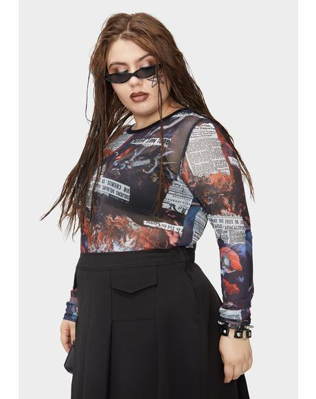 Fierce Tales Of Chaos Mesh Top