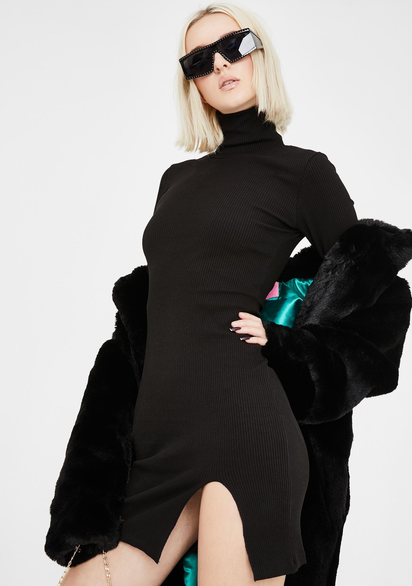 Kiki Riki Face The Facts Mini Dress