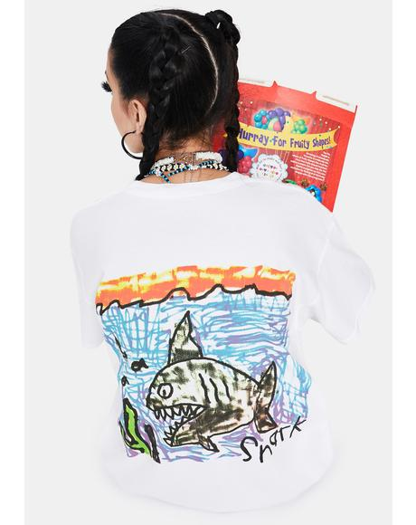 Sharkie Graphic Tee
