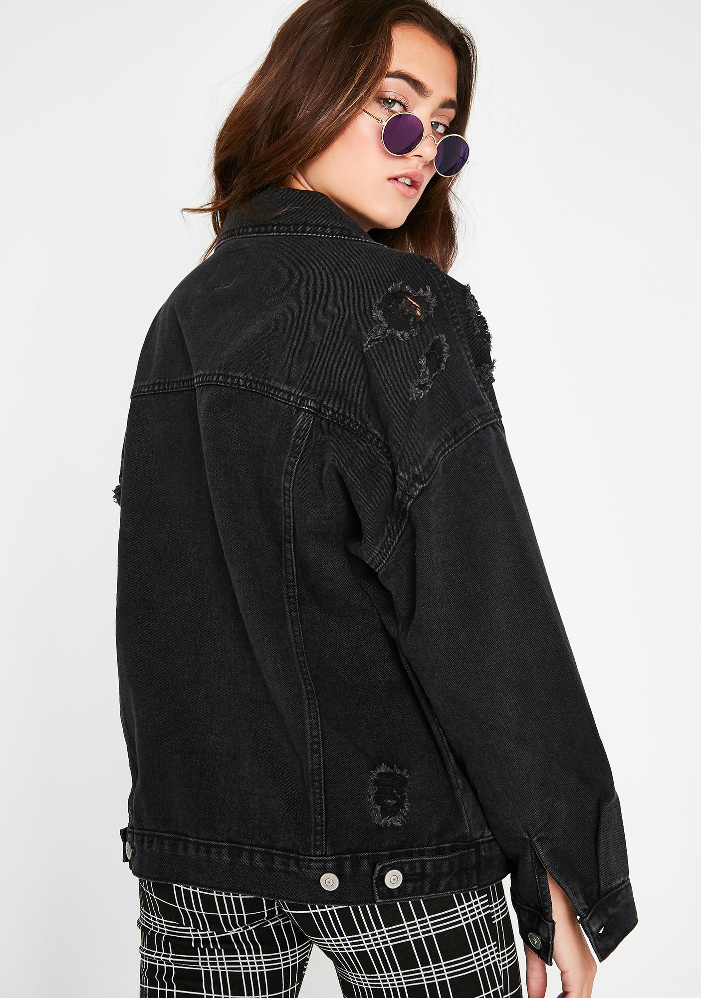 Ink Greased Lightening Denim Jacket