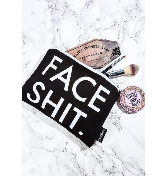 GirrlScout Face Shit Makeup Pouch