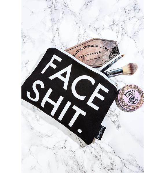 GirrlScout Face Shit Makeup Pouch