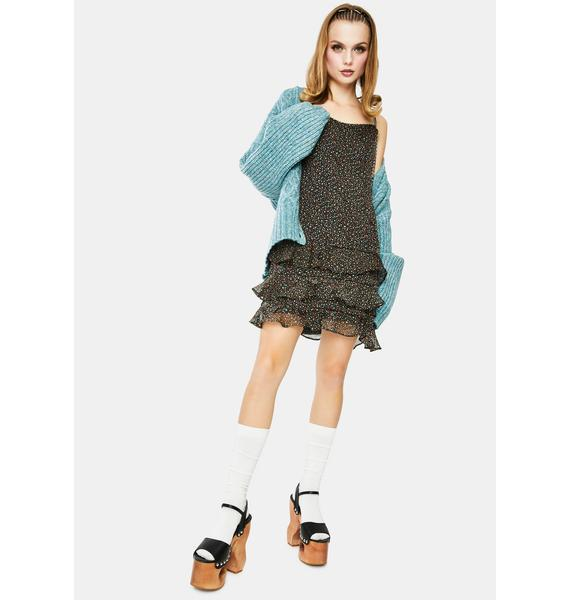 Dress Forum Floral Mini Dress