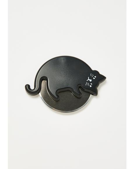 Cat Lover's Pizza Cutter