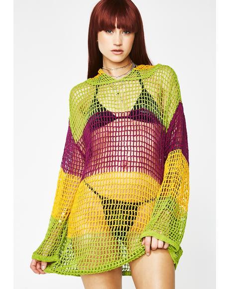 Savage Barb Crochet Sweater