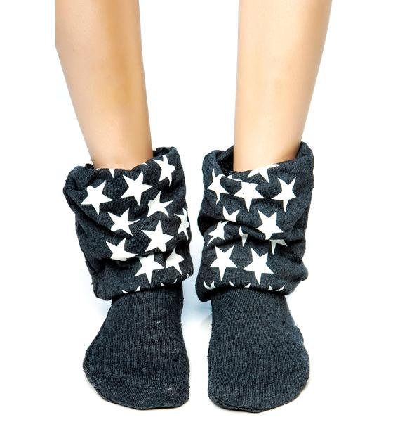 Wildfox Couture I'm the Star Fox Sox