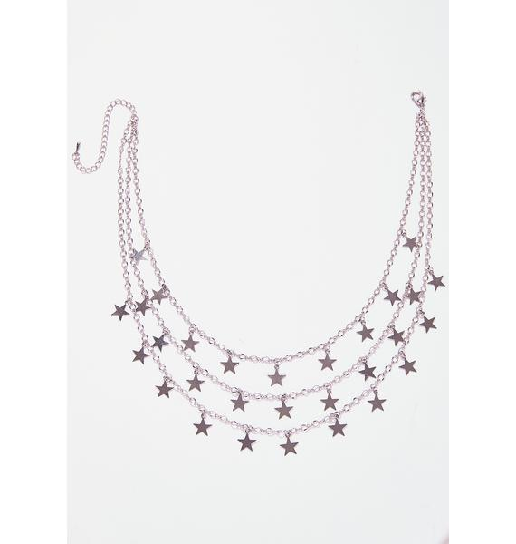 Cosmic Royalty Layered Necklace