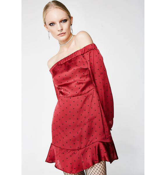 Aphrodite Off-Shoulder Dress