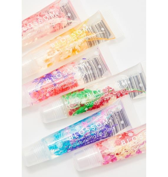 Blossom Grape Lip Gloss Tube