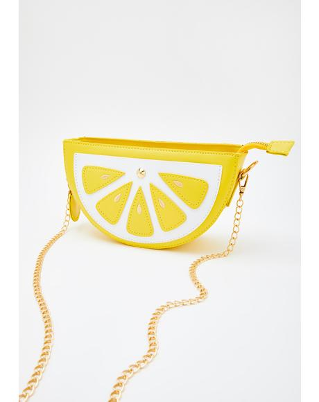 Citrus Splash Crossbody Bag