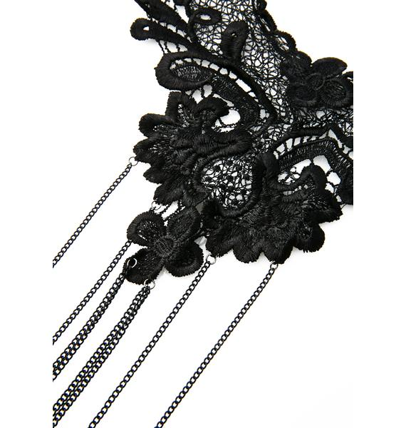Nevermore Lace Body Chain