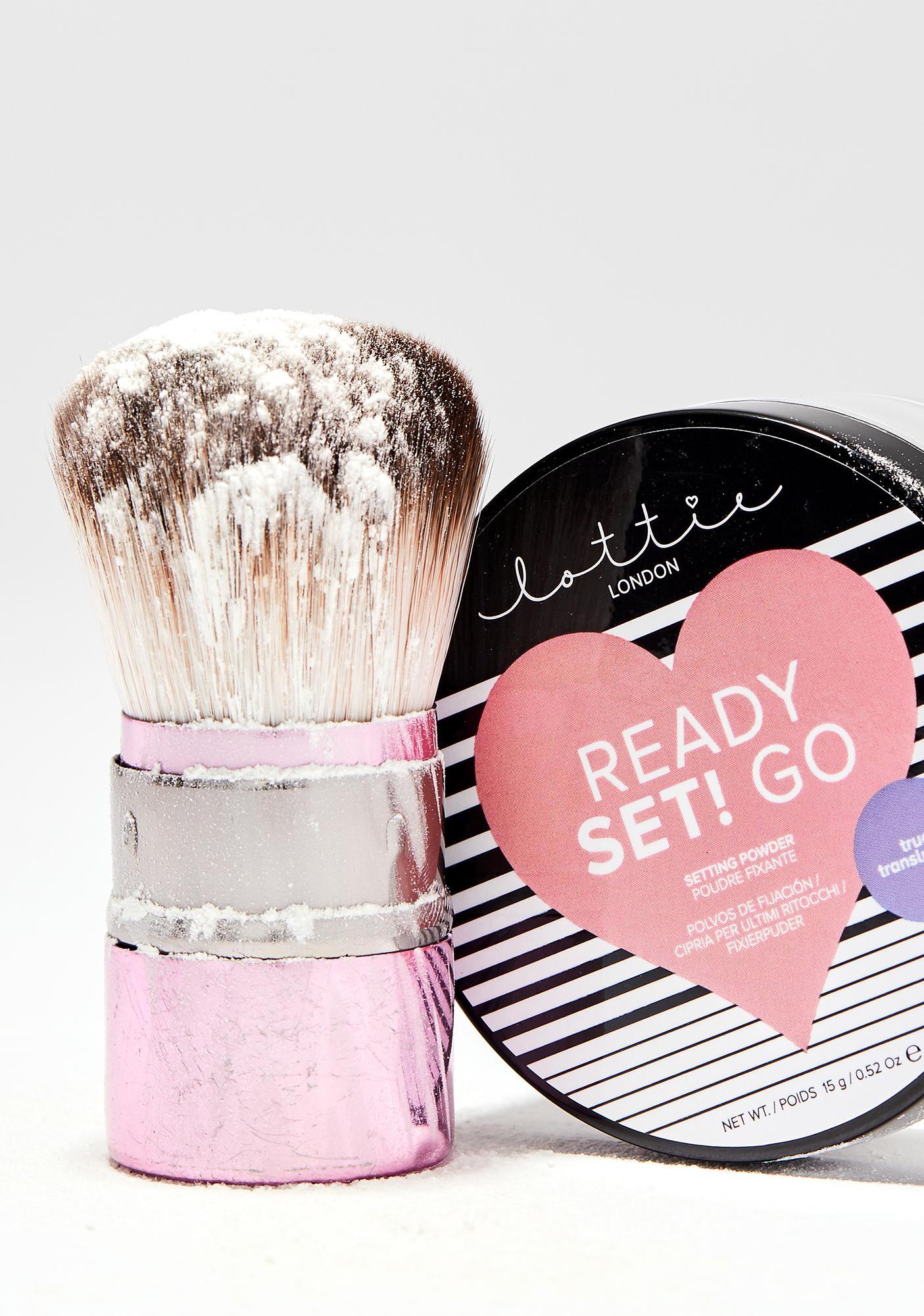 Lottie London Ready Set! Go Translucent Setting Powder
