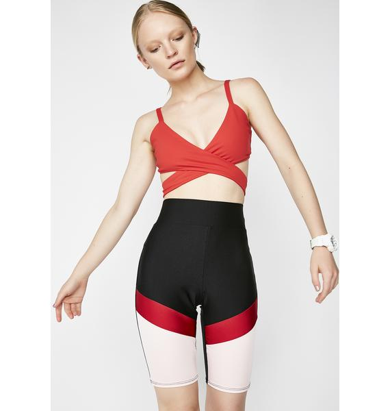 Moto Mama Biker Shorts