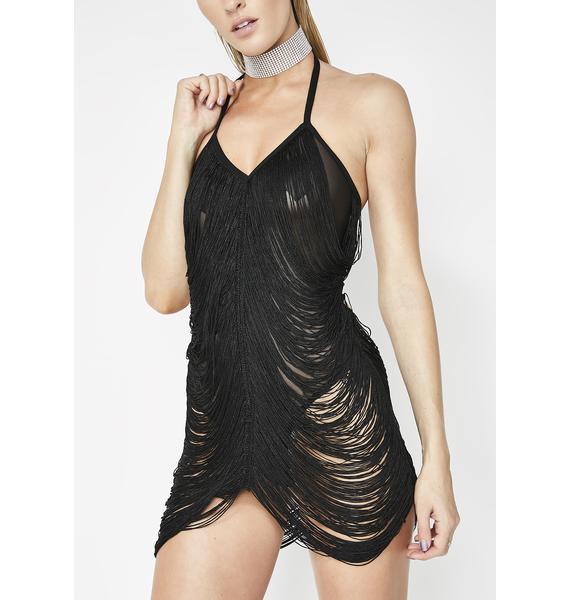 Kiki Riki Too Risque Draped Bodysuit