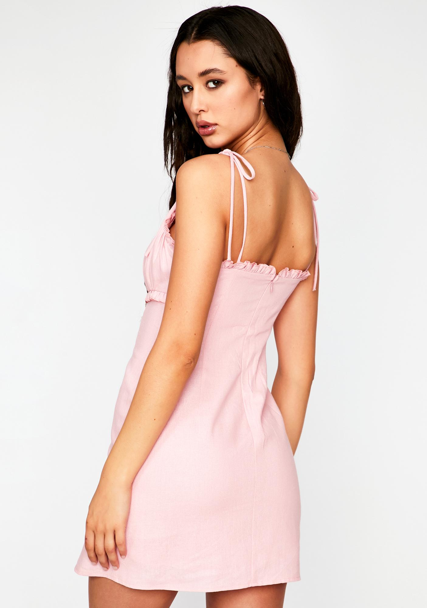Playing For Keeps Mini Dress