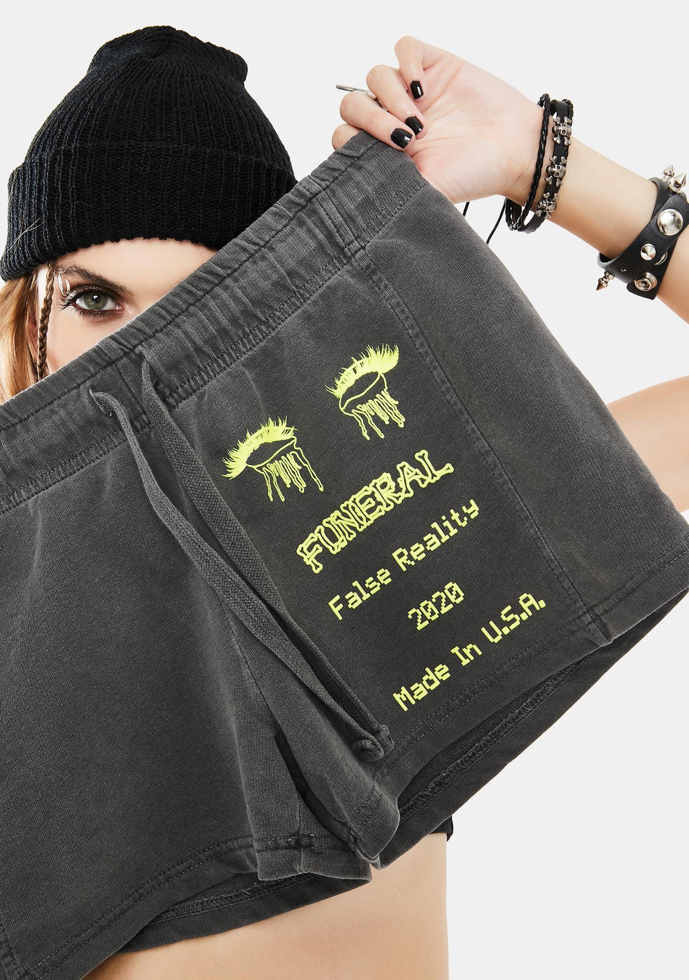 Funeral Washed Black 2020 Lounge Shorts