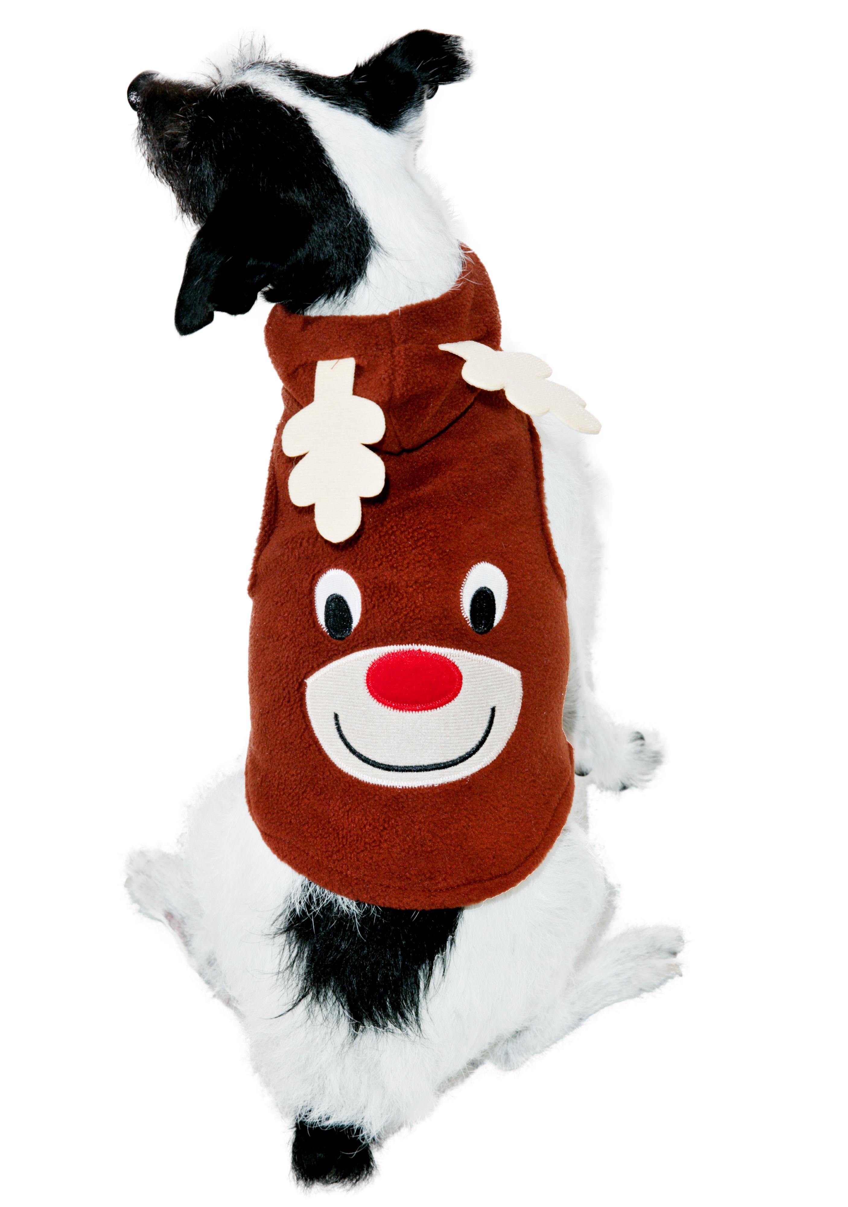 Rudolph Reindeer Dog Costume