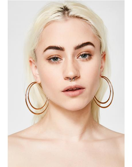Can't Phaze Me Hoop Earrings