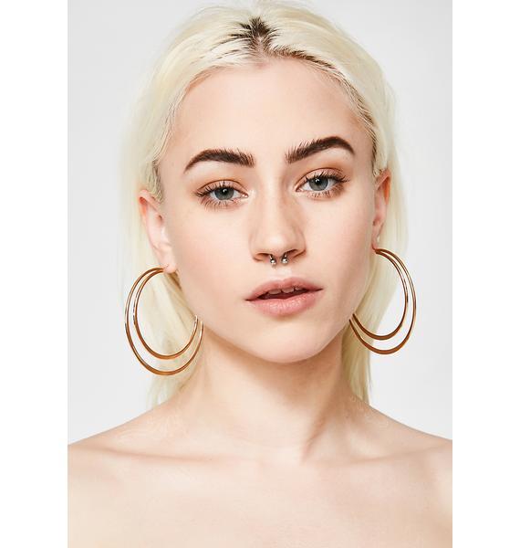 Can't Phaze Me Hoop Earrings