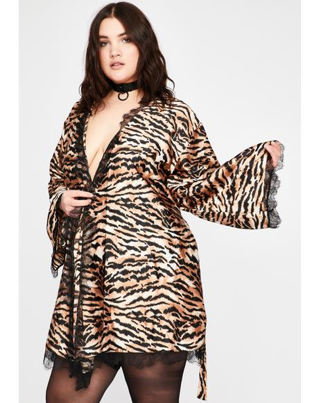 Ultra Fierce N' Fancy Tiger Robe