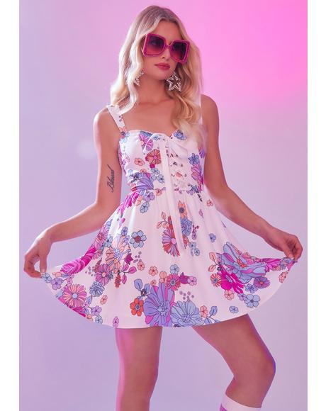 Blissful Lane Floral Dress