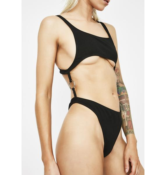 Motel Xanthe Cutout One Piece Swimsuit