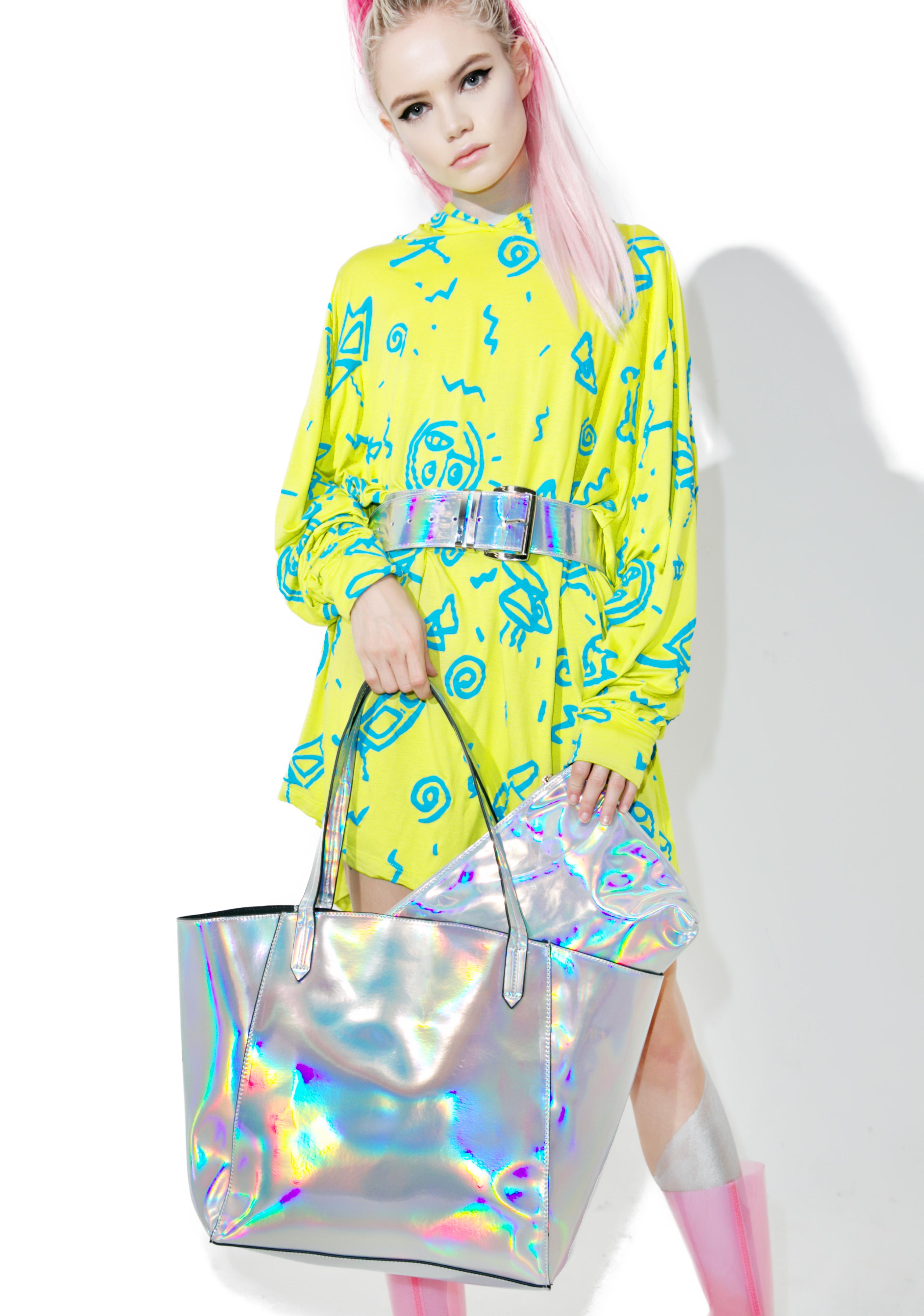 Hologram Tote Bag Set