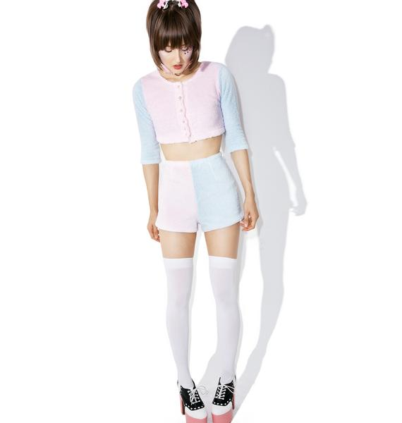 Melonhopper Candy Fluff Suit Shorts