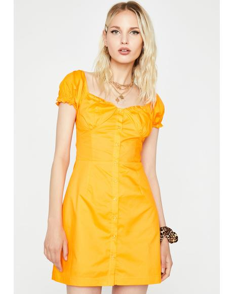 Citrus Summer Saint Mini Dress